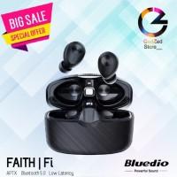 Bluedio FAITH Fi TWS bluetooth Earphone QCC3020 APTX Low Latency