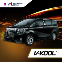 Kaca Film V-Kool VIP Samping + X15 Belakang Alphard 2015/2018