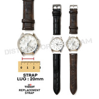 strap tali jam tangan full kulit 22mm for victorinox swiss army dw exp