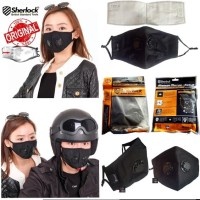 Sherlock Masker Kesehatan N99 Filter Carbon Anti Virus / Polusi