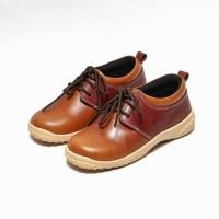 Sepatu Sekolah Anak Kulit Asli Umur 3 Sampai 8 Tahun MFK62