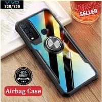 Case VIVO Y30 Y50 Ring Transparan CLEAR JAZZ SERIES Casing