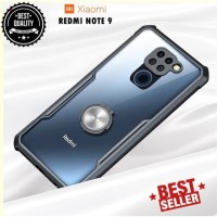 Case Xiaomi Redmi Note 9 Ring Transparan CLEAR JAZZ SERIES Casing