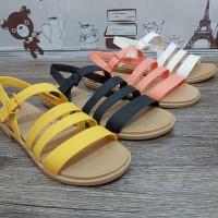 New Arrival Sendal Wanita Crocs Scarlet Sandal Original