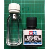 Accent Liner Black + 59garage Cleaner 90ml - Gundam Model kit Tool