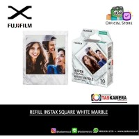 Refill Instax Square White Marble - Instax Square Film isi 10 Lembar