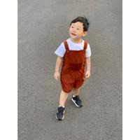 Kiddiepods Eden Overall/Baju Monyet Terusan Anak Bayi/Outer Jumper