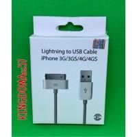 Usb Kabel Data charger iphone 4 cable usb ipad 1 2 3 Original 100%..