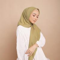 Hijab Wanita Plain Scarf Voal Diario Green Series