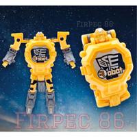 Deformation Watch/Jam Tangan Anak Robot Transformer/MURAH/BESAR/LED