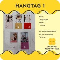 LABEL HARGA / HANGTAG / PRICE TAG