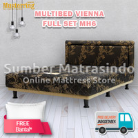 Kasur Spring Bed Musterring Multibed Vienna 180x200 FULL SET HB MH6