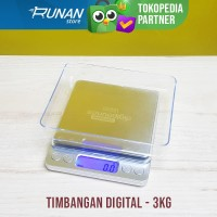 Timbangan Dapur Digital 3kg Digital Kitchen Scale Mini 3 kg