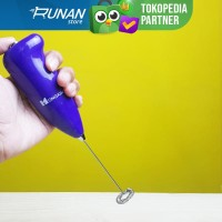Hand Mixer Elektrik - Milk Frother Baterai - Pembuih Susu Elektrik