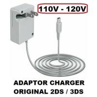 Adaptor Charger Original Nintendo 2DS 3DS Charger 120V