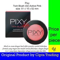 Base Makeup - pixy - Twin Blush Active Pink 02