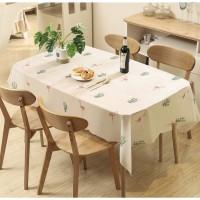 Tropical Waterproof Table Cover / Taplak Meja Makan Anti Air Debu PEVA