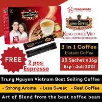 Kopi Vietnam Trung Nguyen TNI King Coffee 3in1 - 20 sachet