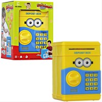 Mainan ATM Brangkas Minion Mainan Edukasi Tabungan