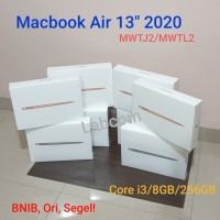 "New Macbook Air 13"" 2020 Core i3/8GB/256GB Space Gray, Silver, Gold"