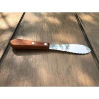 S/S Serrated Butter Knife (Pol-030124) / Sodet Stainless