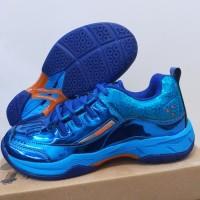 Sepatu Badminton Apacs Original Sp600 Blue