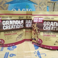 GRANOLA CREATIONS ORIGINAL MIX 60gr