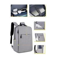 ANGEL Tas Ransel USB port charger,Smart Backpack Anti Air Anti Maling