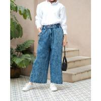 Terminal Grosir | Bawahan Wanita Terbaru | Noa Kulot Jeans