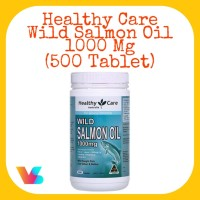 Healthy Care Wild Salmon Oil 1000mg (500 Tablet)