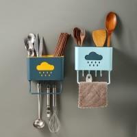 Tempat Sendok Garpu Sumpit Pisau Peralatan Dapur Rak Alat Makan Hook