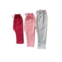 celana panjang anak terry baby spandex size 0, 1, 2, ada 6 warna - size 0, merah maroon