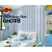 Home Wallpaper Sticker Dinding Salur Bintang Biru - 45cm x 10m