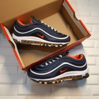 Sepatu Nike Air Max 97 Midnight Navy Habanero Red""