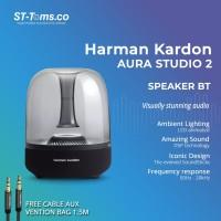 Harman Kardon Aura Studio 2 Wireless Bluetooth Speaker - Hitam