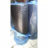 PLASTIK BUBBLE WRAP ROLL HITAM PREMIUM BANDUNG 1,25M x 50M