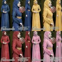gamis fahmeeda 21 - maxi dress - pakaian muslim wania