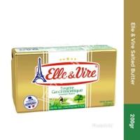 Elle & Vire Salted Butter 200gr