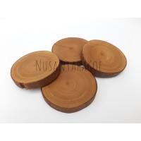 Wooden Coaster | Wood Slice Coaster | Potongan Kayu Coaster
