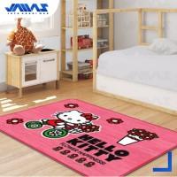 Karpet Anak Karakter Hello Kitty Original Ukuran 130x185cm