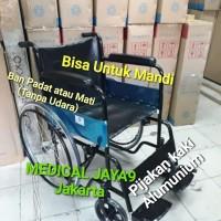 gojek & Grab Kursi Roda Standart Bisa Untuk Mandi Kuat Beban Max 100kg