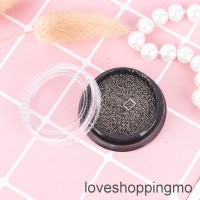 12g 0.6mm gold silver nail art 3d mini caviar metal beads pearl
