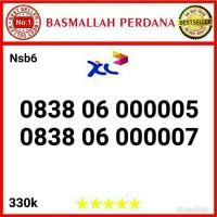 Nomor Cantik XL seri Panca 00000 0838 06 000005 nsb6m