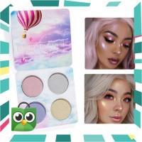 4 Colors Highlight Shimmer Glitter Eye Shadow Palette Glow Upstart