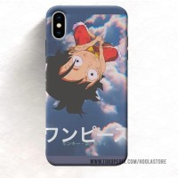Custom Case murah Iphone Xs 8 Plus 7 luffy (12) 11 Max Pro