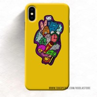 Custom Case murah Iphone Xs 8 Plus 7 doodle (12) 11 Max Pro