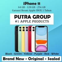 (IBOX) iPhone 11 64GB 128GB 256GB Garansi Resmi TAM 1 Tahun 64 128 256