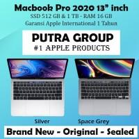 "Macbook Pro 2020 13"" Inch 2.0 GHZ i5 10th Gen 512GB 1TB -16GB TouchBar"