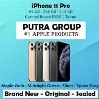 (IBOX) iPhone 11 PRO 64GB 256GB 512GB Garansi Resmi TAM 64 256 512