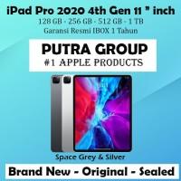 "(IBOX) iPad Pro 2020 11"" Inch 128GB 256GB 512GB 1TB WIFI CELL RESMI"